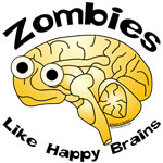 Zombies Like Happy Brains
